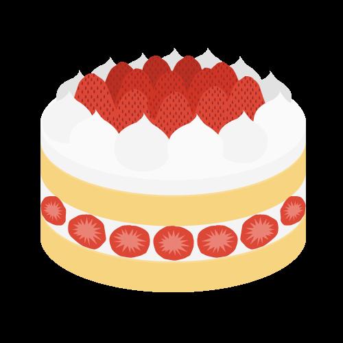 ケーキの無料アイコン・イラスト素材