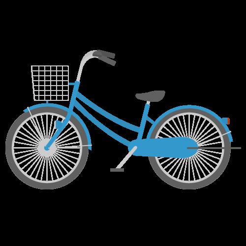 自転車の無料アイコン・イラスト素材