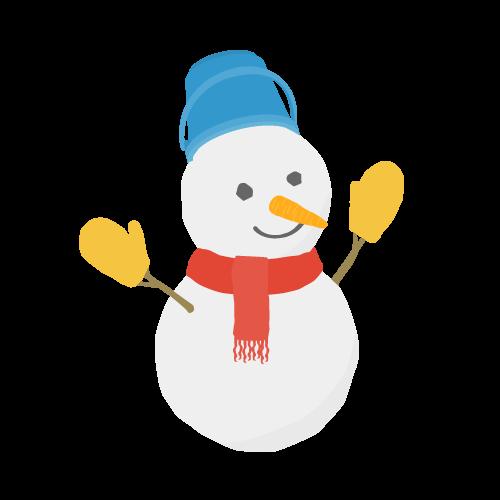 雪だるまの無料アイコン・イラスト素材