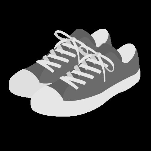 靴(スニーカー)の無料アイコン・イラスト素材