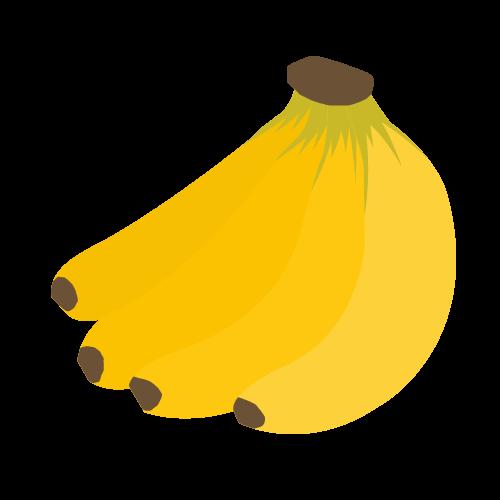 バナナの無料アイコン・イラスト素材