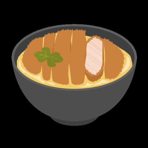 かつ丼の無料アイコン・イラスト素材