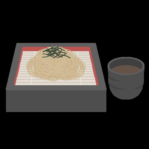 ざる蕎麦の無料アイコン・イラスト素材