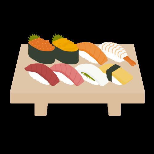 寿司の無料アイコン・イラスト素材