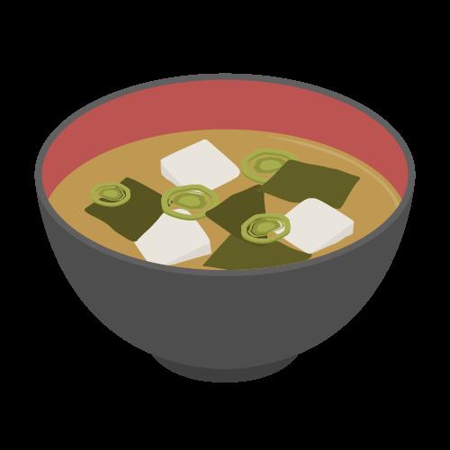 味噌汁の無料アイコン・イラスト素材