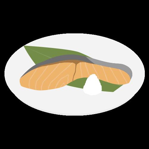 鮭の無料アイコン・イラスト素材