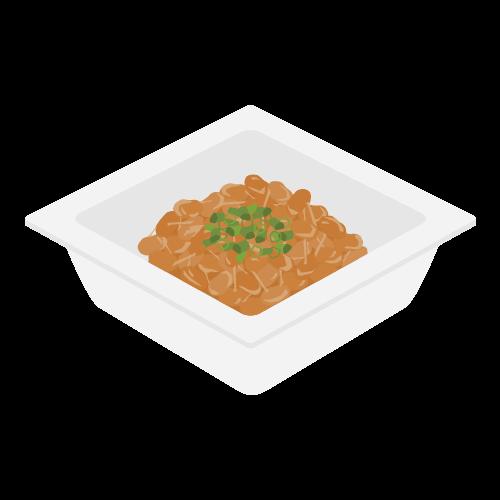 納豆の無料アイコン・イラスト素材
