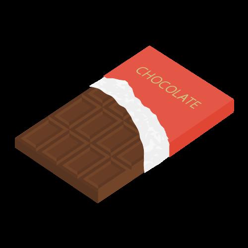 チョコレートの無料アイコン・イラスト素材