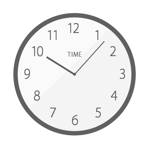 掛け時計の無料アイコン・イラスト素材