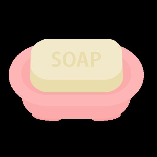 石鹸の無料アイコン・イラスト素材