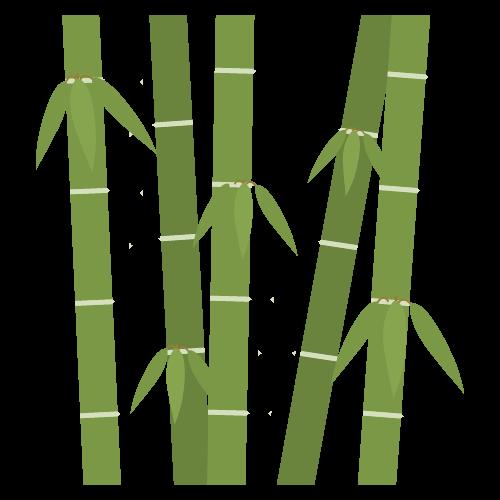 竹の無料アイコン・イラスト素材