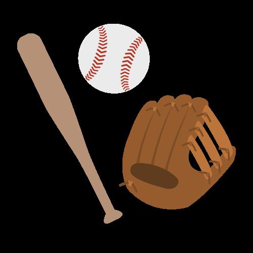 野球の無料アイコン・イラスト素材