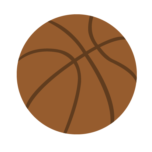 バスケットボールの無料アイコン・イラスト素材