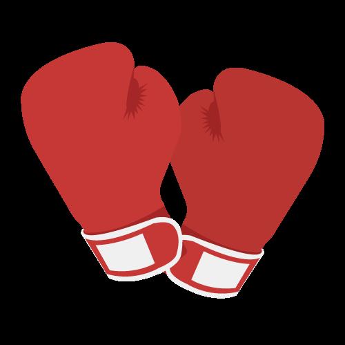 ボクシンググローブの無料アイコン・イラスト素材