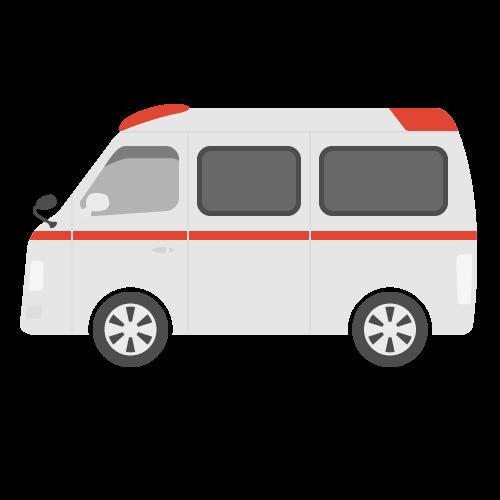 救急車の無料アイコン・イラスト素材