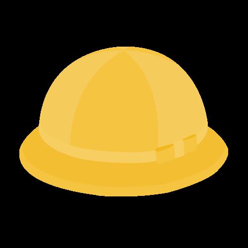 通学帽子の無料アイコン・イラスト素材
