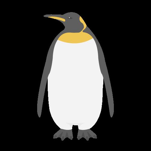コウテイペンギンの無料アイコン・イラスト素材