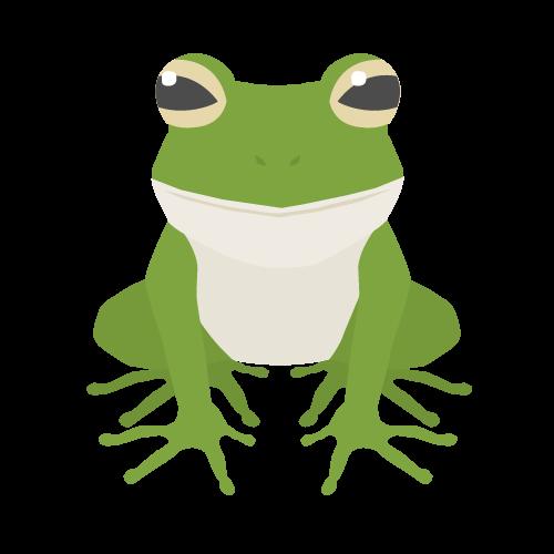 カエルの無料アイコン・イラスト素材