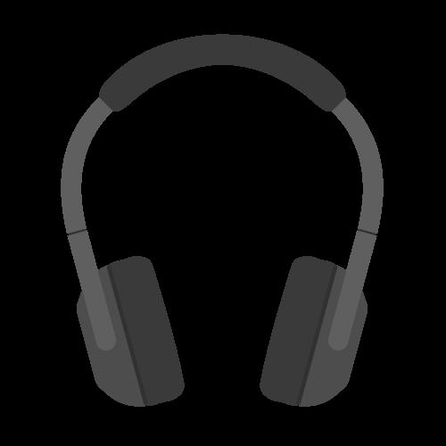 ヘッドフォンの無料アイコン・イラスト素材