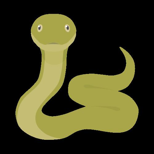 ヘビ(蛇)のアイコン・イラスト