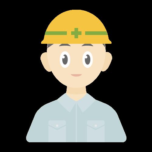 人物(建設作業員)の無料アイコン・イラスト素材