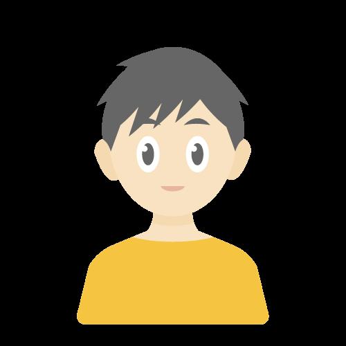 人物(子供/男性)の無料アイコン・イラスト素材