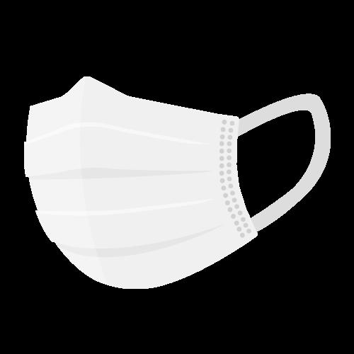 マスク(不織布)の無料アイコン・イラスト素材