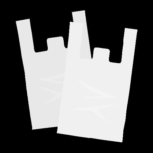 ビニール袋(レジ袋)の無料アイコン・イラスト素材