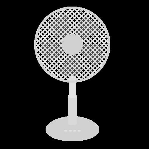 扇風機の無料アイコン・イラスト素材