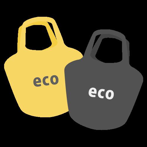 エコバッグの無料アイコン・イラスト素材