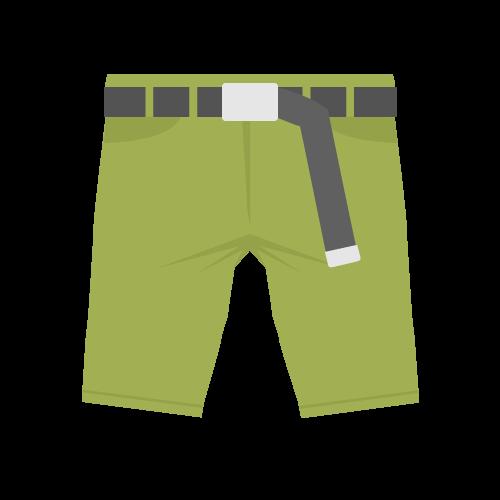短パン・半ズボンの無料アイコン・イラスト素材