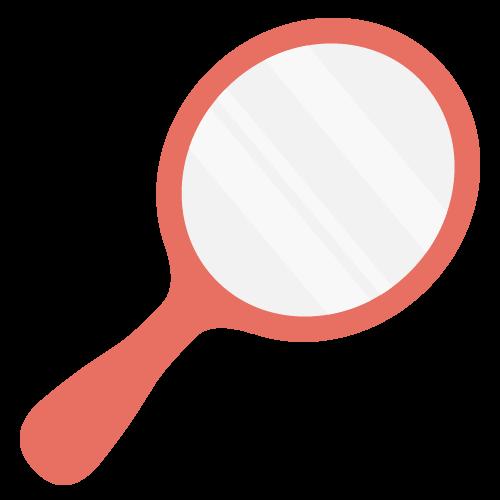 手鏡の無料アイコン・イラスト素材