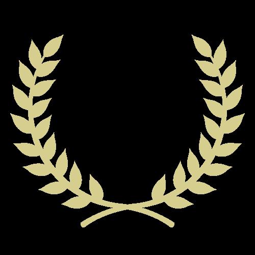 月桂冠(金)の無料アイコン・イラスト素材