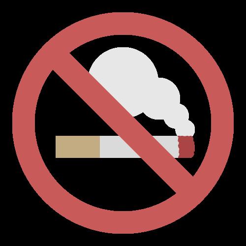 禁煙(タバコ)の無料アイコン・イラスト素材