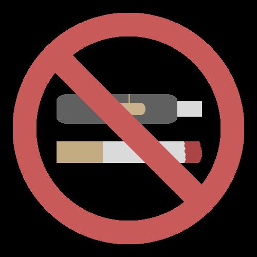 禁煙(タバコ・電子タバコ)の無料アイコン・イラスト素材