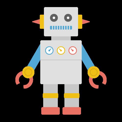 ロボットの無料アイコン・イラスト素材