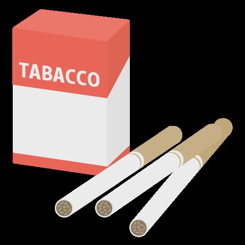 煙草・タバコの無料アイコン・イラスト素材