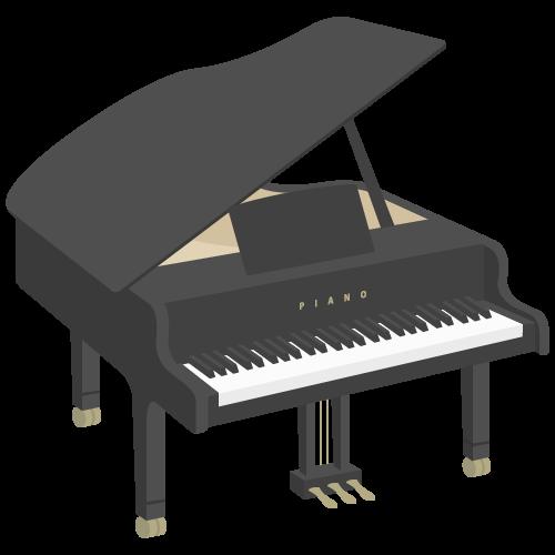 ピアノの無料アイコン・イラスト素材
