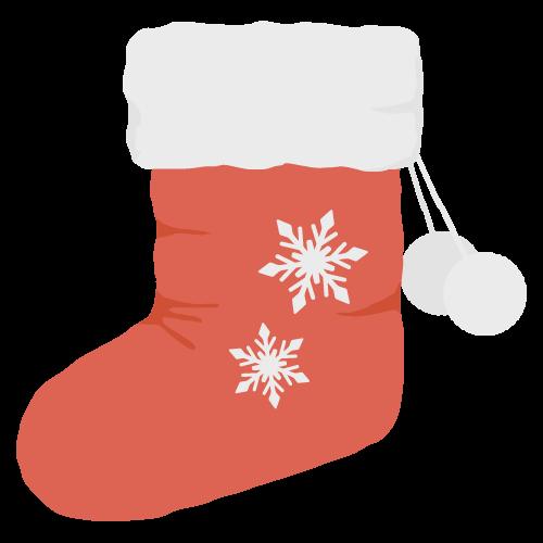 靴下(クリスマス)の無料アイコン・イラスト素材