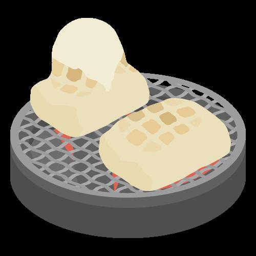お餅(お正月)の無料アイコン・イラスト素材