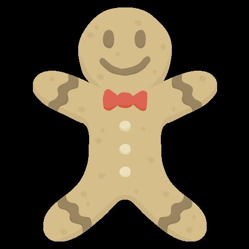 クッキー(クリスマス)の無料アイコン・イラスト素材