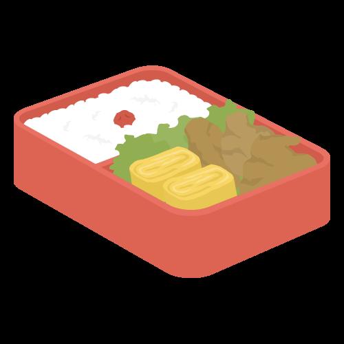 お弁当の無料アイコン・イラスト素材