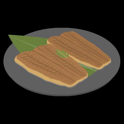 うなぎの蒲焼の無料アイコン・イラスト素材