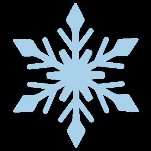 氷の結晶の無料アイコン・イラスト素材