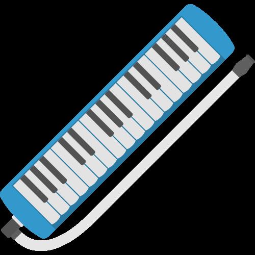 鍵盤ハーモニカの無料アイコン・イラスト素材