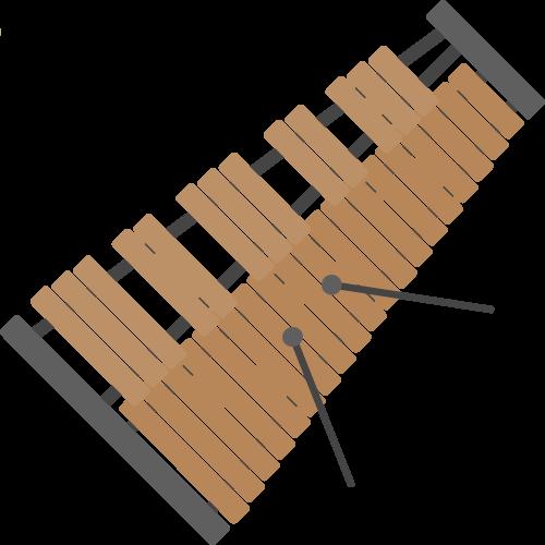 木琴の無料アイコン・イラスト素材