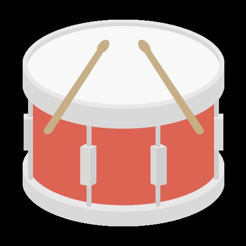 小太鼓の無料アイコン・イラスト素材