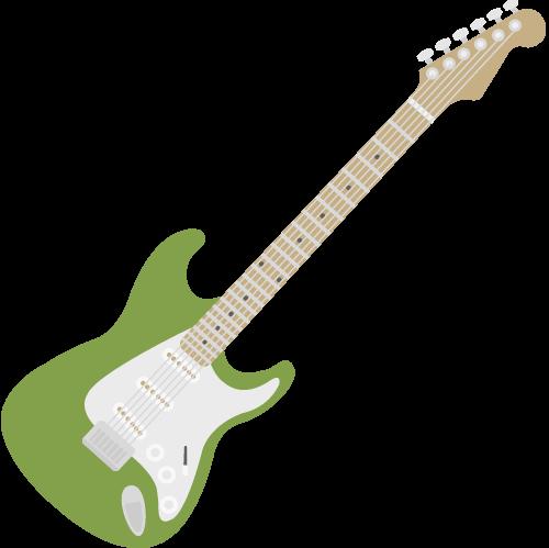 エレキギターの無料アイコン・イラスト素材