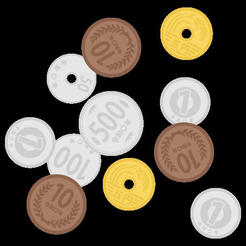 小銭の無料アイコン・イラスト素材