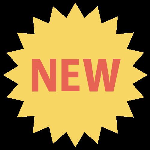 NEWマークの無料アイコン・イラスト素材